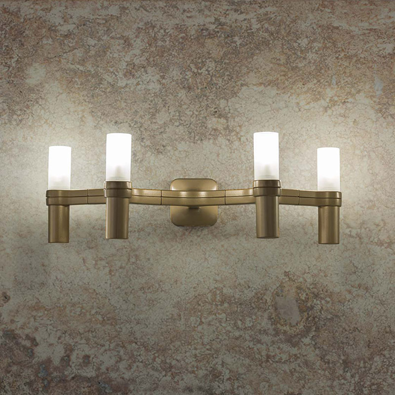 Nemo Crown 4 Wall Lamp by Jehs + Laub life 2 Olson and Baker - Designer & Contemporary Sofas, Furniture - Olson and Baker showcases original designs from authentic, designer brands. Buy contemporary furniture, lighting, storage, sofas & chairs at Olson + Baker.