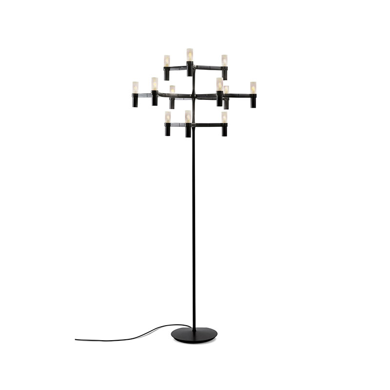 Nemo Lighting Crown Floor Lamp by Jehs + Laub Olson and Baker - Designer & Contemporary Sofas, Furniture - Olson and Baker showcases original designs from authentic, designer brands. Buy contemporary furniture, lighting, storage, sofas & chairs at Olson + Baker.