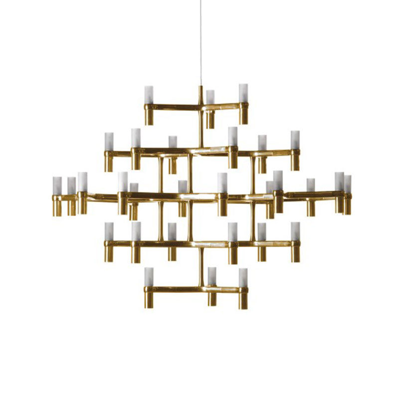 Nemo Lighting Crown Major Chandelier by Jehs + Laub Olson and Baker - Designer & Contemporary Sofas, Furniture - Olson and Baker showcases original designs from authentic, designer brands. Buy contemporary furniture, lighting, storage, sofas & chairs at Olson + Baker.
