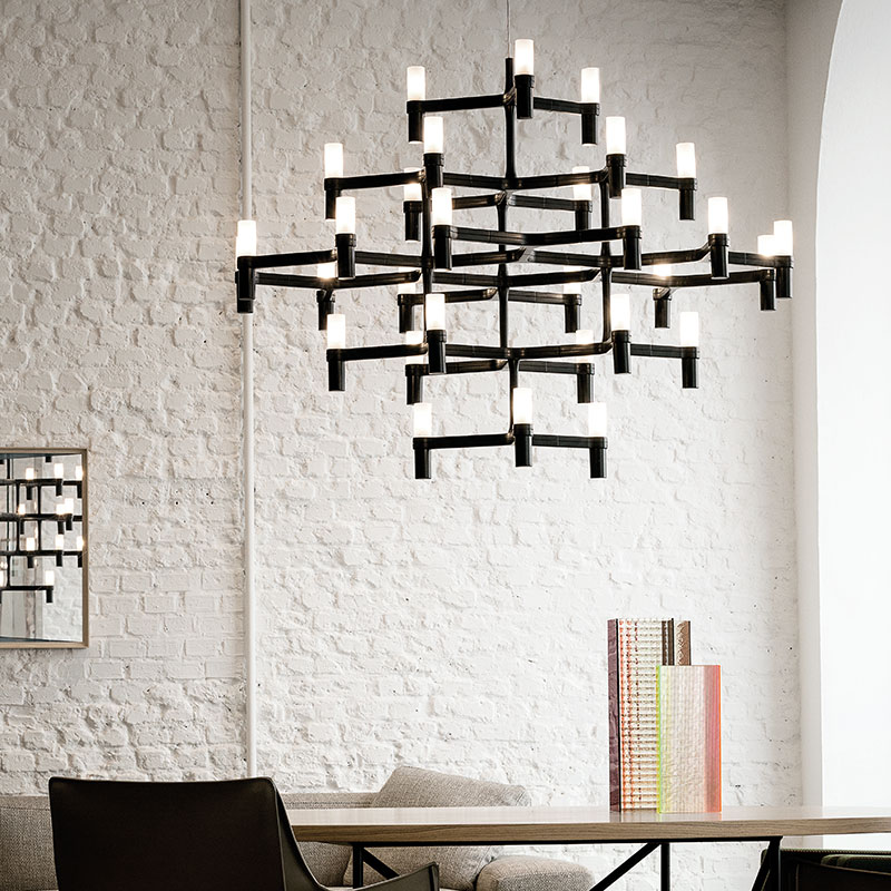 Nemo Crown Major Pendant Lamp by Jehs + Laub 3 Olson and Baker - Designer & Contemporary Sofas, Furniture - Olson and Baker showcases original designs from authentic, designer brands. Buy contemporary furniture, lighting, storage, sofas & chairs at Olson + Baker.