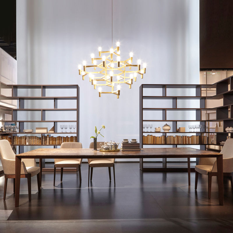 Nemo Crown Major Pendant Lamp by Jehs + Laub life 1 Olson and Baker - Designer & Contemporary Sofas, Furniture - Olson and Baker showcases original designs from authentic, designer brands. Buy contemporary furniture, lighting, storage, sofas & chairs at Olson + Baker.