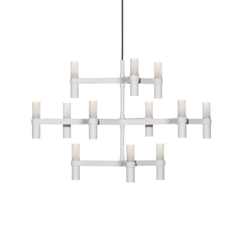 Nemo Lighting Crown Minor Chandelier by Jehs + Laub Olson and Baker - Designer & Contemporary Sofas, Furniture - Olson and Baker showcases original designs from authentic, designer brands. Buy contemporary furniture, lighting, storage, sofas & chairs at Olson + Baker.