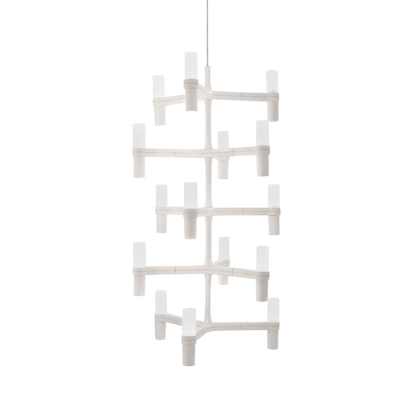 Nemo Lighting Crown Multi Chandelier by Jehs + Laub Olson and Baker - Designer & Contemporary Sofas, Furniture - Olson and Baker showcases original designs from authentic, designer brands. Buy contemporary furniture, lighting, storage, sofas & chairs at Olson + Baker.