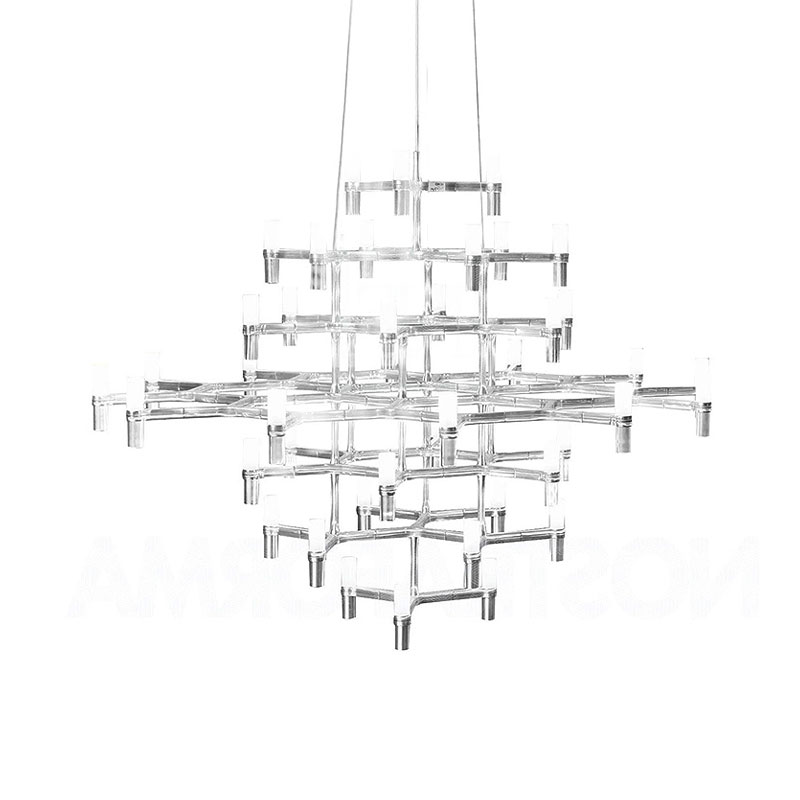 Nemo Lighting Crown Magnum Pendant Light by Jehs + Laub Olson and Baker - Designer & Contemporary Sofas, Furniture - Olson and Baker showcases original designs from authentic, designer brands. Buy contemporary furniture, lighting, storage, sofas & chairs at Olson + Baker.