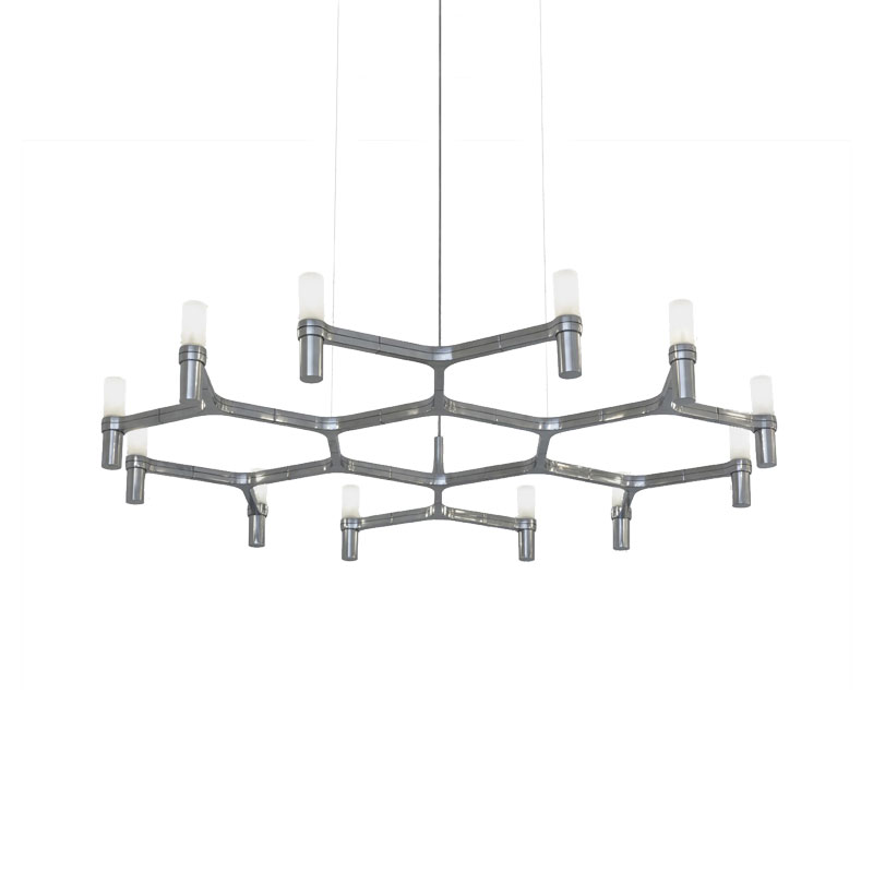 Nemo Lighting Crown Plana Minor Chandelier by Jehs + Laub Olson and Baker - Designer & Contemporary Sofas, Furniture - Olson and Baker showcases original designs from authentic, designer brands. Buy contemporary furniture, lighting, storage, sofas & chairs at Olson + Baker.