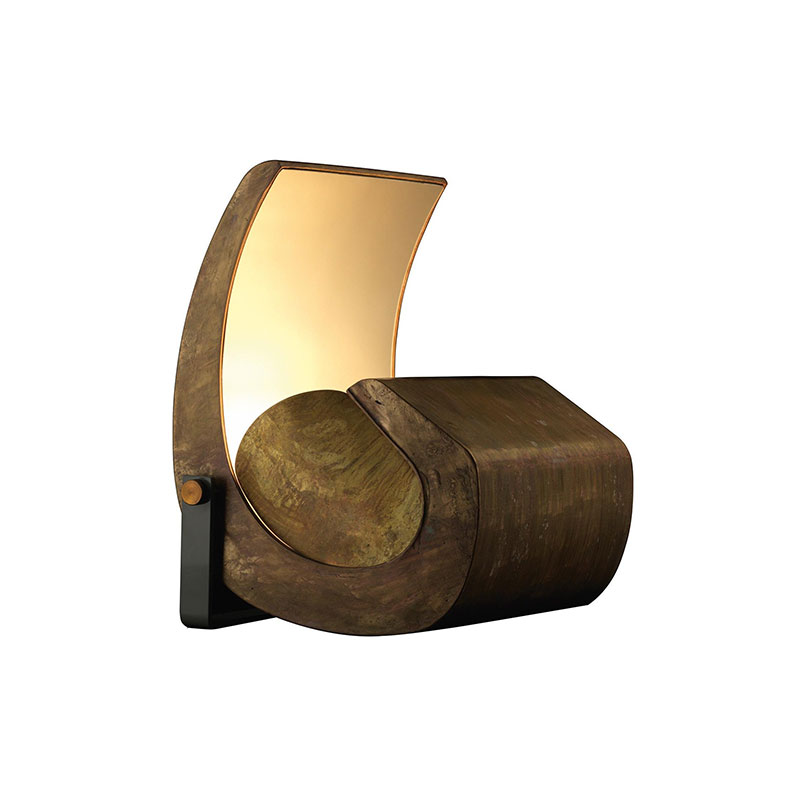 Nemo Lighting Escargot Floor Lamp by Le Corbusier Olson and Baker - Designer & Contemporary Sofas, Furniture - Olson and Baker showcases original designs from authentic, designer brands. Buy contemporary furniture, lighting, storage, sofas & chairs at Olson + Baker.