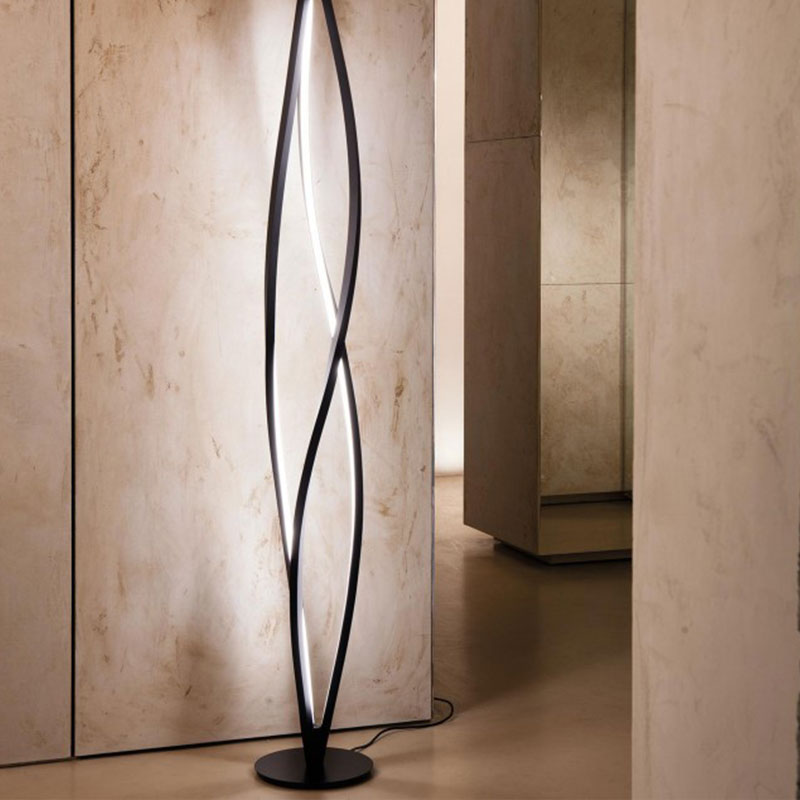 Nemo In The Wind Floor Lamp by A. Miyake life Olson and Baker - Designer & Contemporary Sofas, Furniture - Olson and Baker showcases original designs from authentic, designer brands. Buy contemporary furniture, lighting, storage, sofas & chairs at Olson + Baker.
