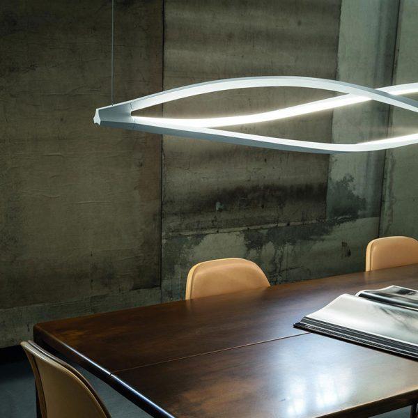 In The Wind Horizontal Pendant Light