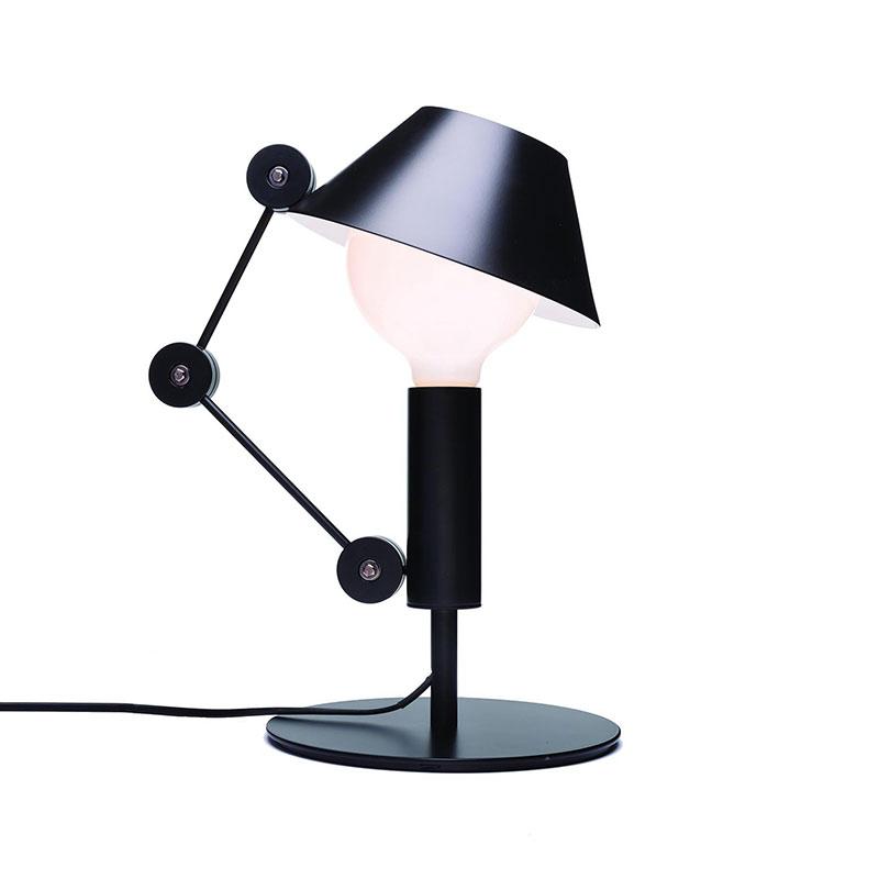 Nemo Lighting Mr. Light Short Table Lamp by J. Mariscal Olson and Baker - Designer & Contemporary Sofas, Furniture - Olson and Baker showcases original designs from authentic, designer brands. Buy contemporary furniture, lighting, storage, sofas & chairs at Olson + Baker.
