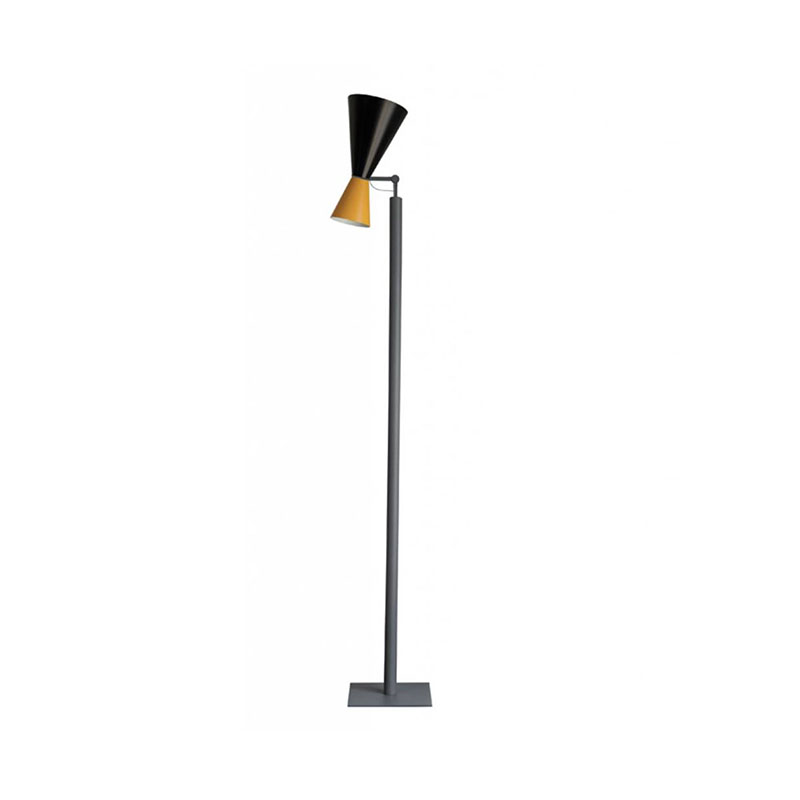 Nemo Lighting Parliament Floor Lamp by Le Corbusier Olson and Baker - Designer & Contemporary Sofas, Furniture - Olson and Baker showcases original designs from authentic, designer brands. Buy contemporary furniture, lighting, storage, sofas & chairs at Olson + Baker.