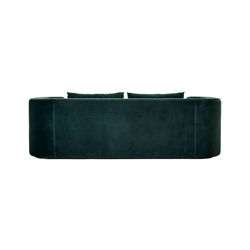 Verpan VP168 Three Seat Sofa by Verner Panton 2 Olson and Baker - Designer & Contemporary Sofas, Furniture - Olson and Baker showcases original designs from authentic, designer brands. Buy contemporary furniture, lighting, storage, sofas & chairs at Olson + Baker.