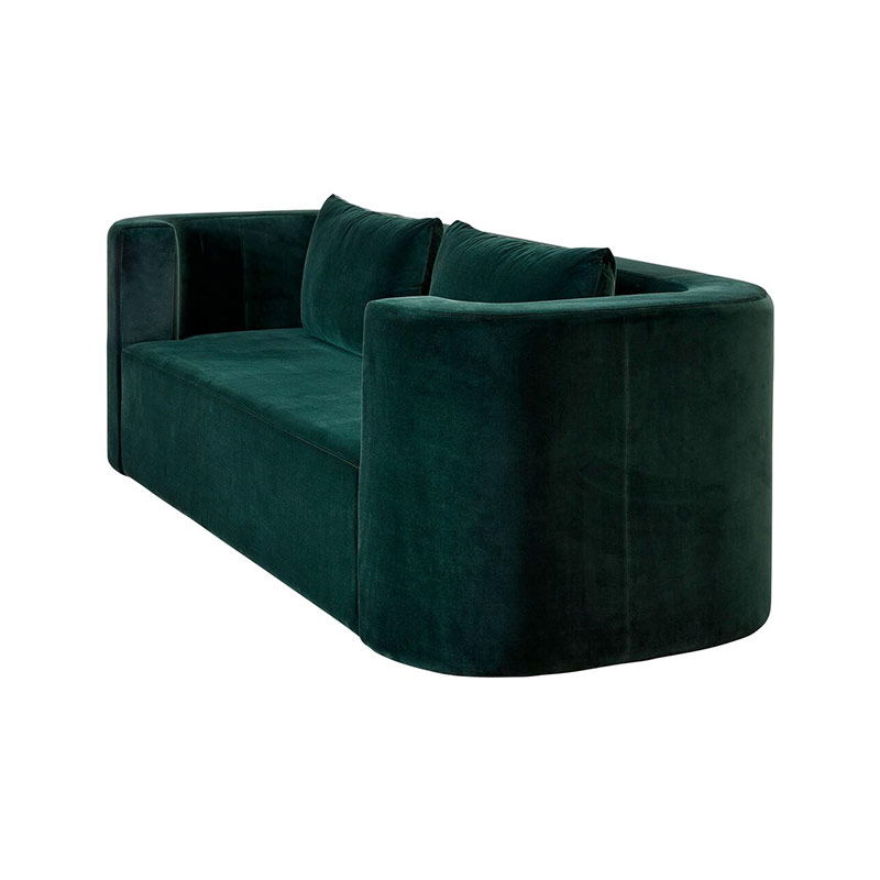 Verpan VP168 Three Seat Sofa by Verner Panton 3 Olson and Baker - Designer & Contemporary Sofas, Furniture - Olson and Baker showcases original designs from authentic, designer brands. Buy contemporary furniture, lighting, storage, sofas & chairs at Olson + Baker.