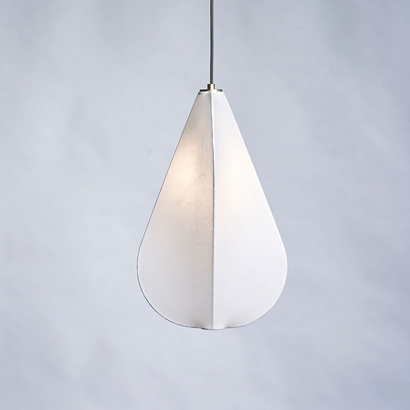 Made to Stay Upside Down Pendant Light by Carsten Jörgensen life 3 Olson and Baker - Designer & Contemporary Sofas, Furniture - Olson and Baker showcases original designs from authentic, designer brands. Buy contemporary furniture, lighting, storage, sofas & chairs at Olson + Baker.