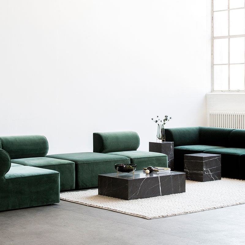 Menu-Eave-Modular-Sofa-by-Norm-Architects-Lifeshot-04 Olson and Baker - Designer & Contemporary Sofas, Furniture - Olson and Baker showcases original designs from authentic, designer brands. Buy contemporary furniture, lighting, storage, sofas & chairs at Olson + Baker.