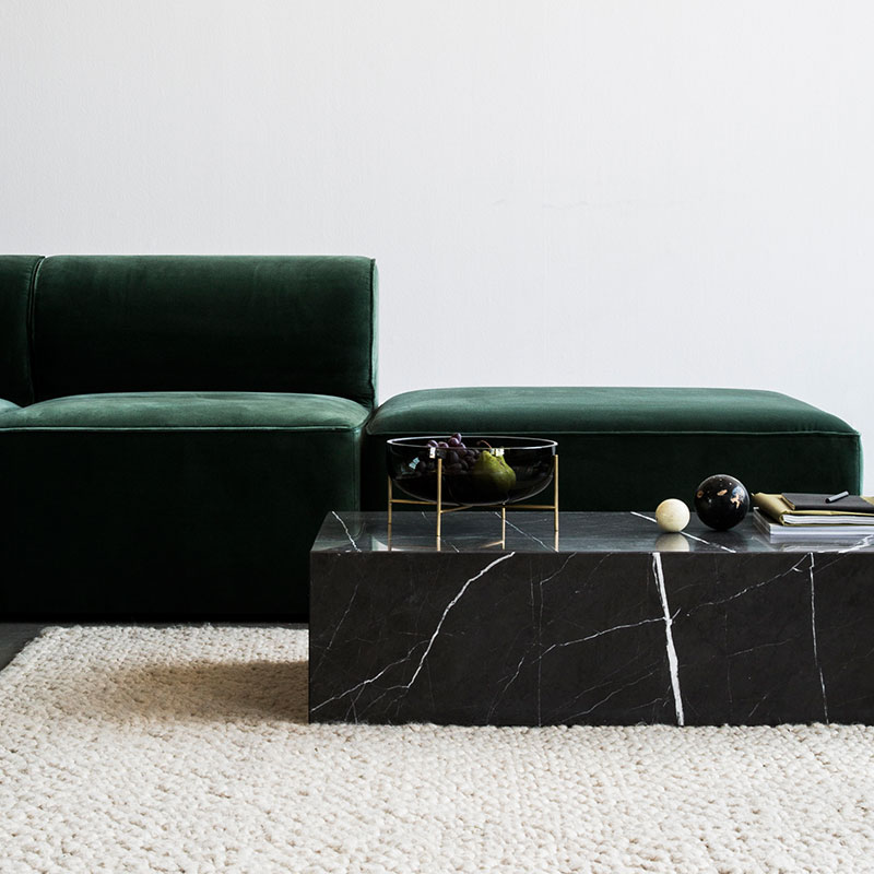 Menu-Eave-Modular-Sofa-by-Norm-Architects-Lifeshot-05 Olson and Baker - Designer & Contemporary Sofas, Furniture - Olson and Baker showcases original designs from authentic, designer brands. Buy contemporary furniture, lighting, storage, sofas & chairs at Olson + Baker.