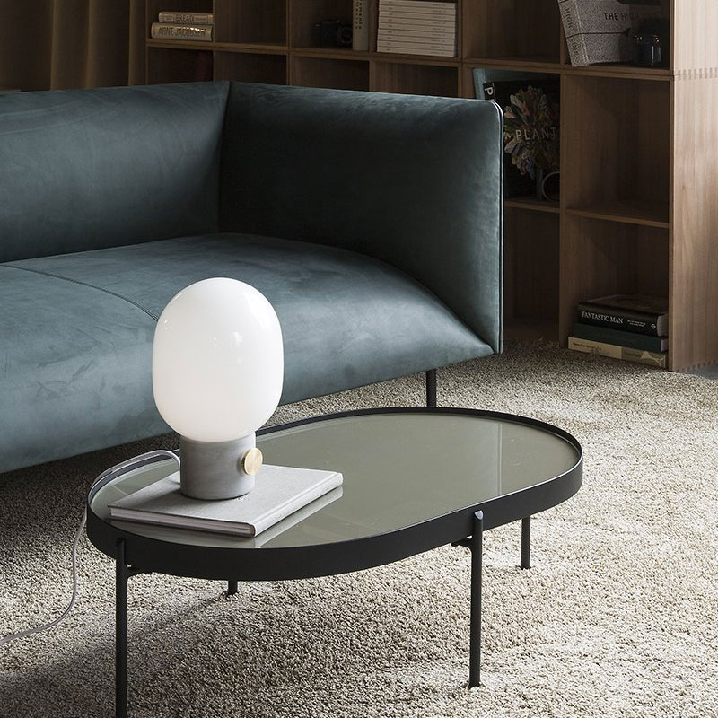 Menu-Go-Dot-Sofa-by-Iskos-Berlin-Design-City-Velvet-Lifeshot01 Olson and Baker - Designer & Contemporary Sofas, Furniture - Olson and Baker showcases original designs from authentic, designer brands. Buy contemporary furniture, lighting, storage, sofas & chairs at Olson + Baker.