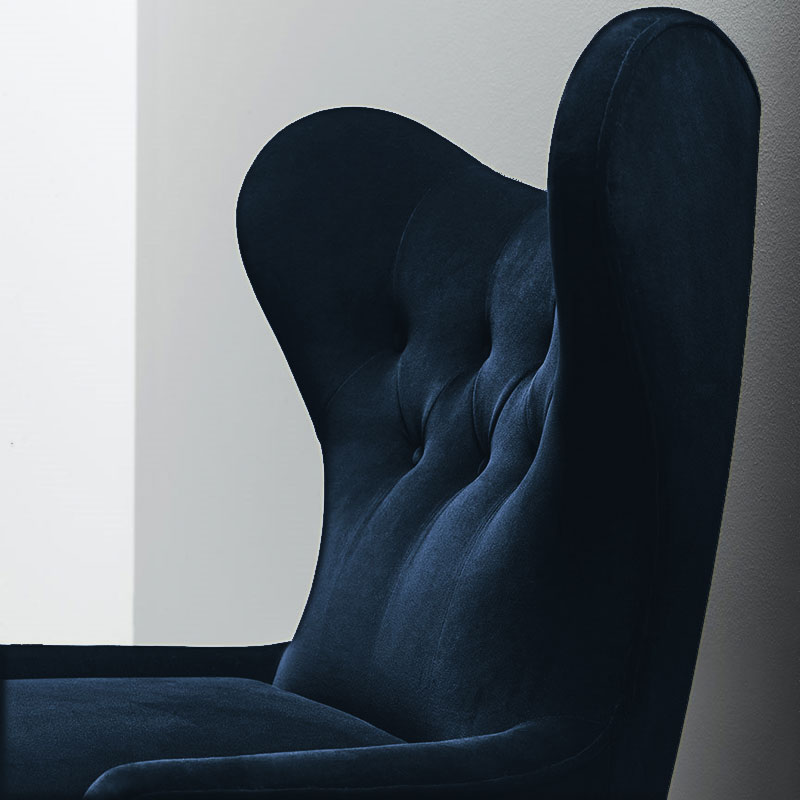 Ampère Lounge Chair by Olson and Baker Lifeshot 02 Olson and Baker - Designer & Contemporary Sofas, Furniture - Olson and Baker showcases original designs from authentic, designer brands. Buy contemporary furniture, lighting, storage, sofas & chairs at Olson + Baker.