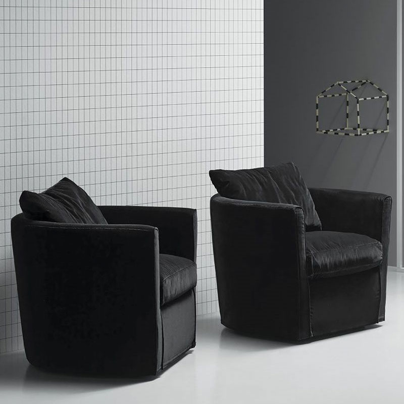 Bernoulli Lounge Chair by Olson and Baker Lifeshot 01 Olson and Baker - Designer & Contemporary Sofas, Furniture - Olson and Baker showcases original designs from authentic, designer brands. Buy contemporary furniture, lighting, storage, sofas & chairs at Olson + Baker.
