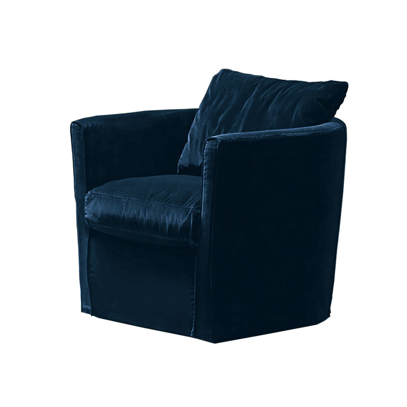 Olson and Baker Bernoulli Lounge Chair in Velvet by Olson and Baker Studio Olson and Baker - Designer & Contemporary Sofas, Furniture - Olson and Baker showcases original designs from authentic, designer brands. Buy contemporary furniture, lighting, storage, sofas & chairs at Olson + Baker.