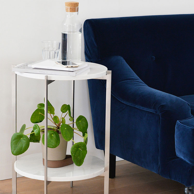 Case Furniture Bilsby Side Table by Matthew Hilton Olson and Baker - Designer & Contemporary Sofas, Furniture - Olson and Baker showcases original designs from authentic, designer brands. Buy contemporary furniture, lighting, storage, sofas & chairs at Olson + Baker.