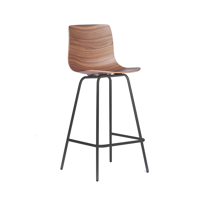 Case Furniture Loku High Bar Stool by Shin Azumi Olson and Baker - Designer & Contemporary Sofas, Furniture - Olson and Baker showcases original designs from authentic, designer brands. Buy contemporary furniture, lighting, storage, sofas & chairs at Olson + Baker.