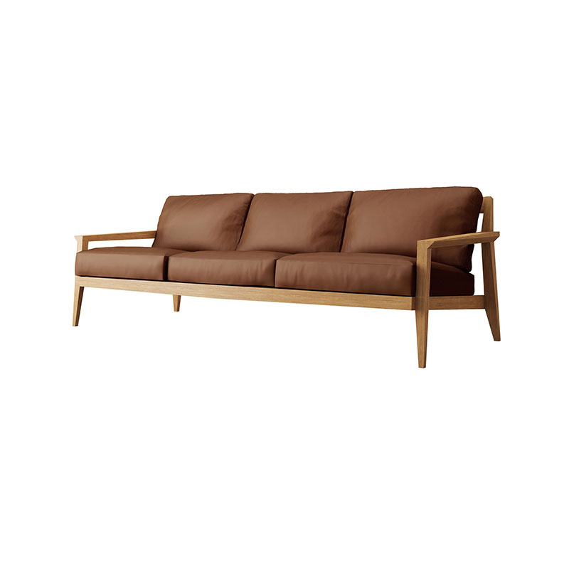 Case Furniture Stanley Three Seat Sofa by Matthew Hilton Olson and Baker - Designer & Contemporary Sofas, Furniture - Olson and Baker showcases original designs from authentic, designer brands. Buy contemporary furniture, lighting, storage, sofas & chairs at Olson + Baker.