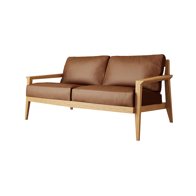 Case Furniture Stanley Two Seat Sofa by Matthew Hilton Olson and Baker - Designer & Contemporary Sofas, Furniture - Olson and Baker showcases original designs from authentic, designer brands. Buy contemporary furniture, lighting, storage, sofas & chairs at Olson + Baker.