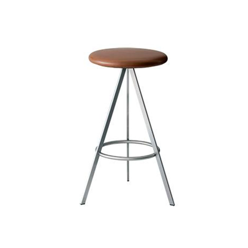Case Furniture Tri-Space Counter Stool by Terence Woodgate & John Barnard Olson and Baker - Designer & Contemporary Sofas, Furniture - Olson and Baker showcases original designs from authentic, designer brands. Buy contemporary furniture, lighting, storage, sofas & chairs at Olson + Baker.
