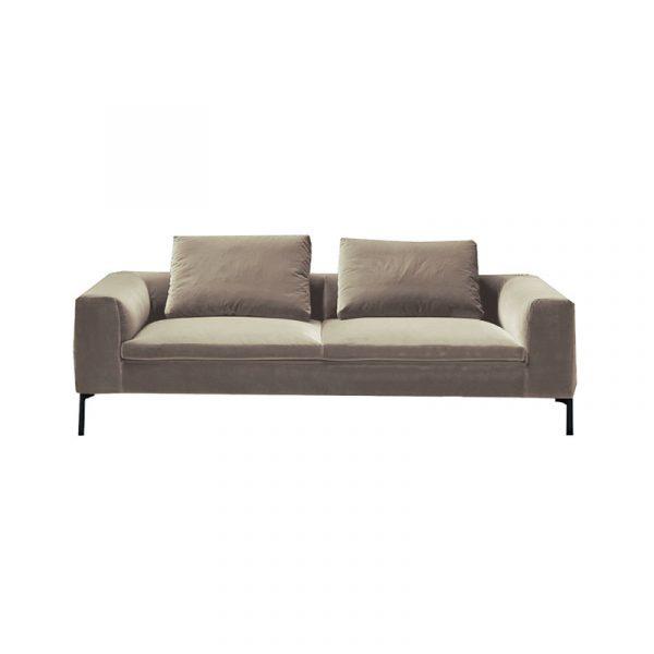 Cockcroft Three Seat Sofa in Velvet