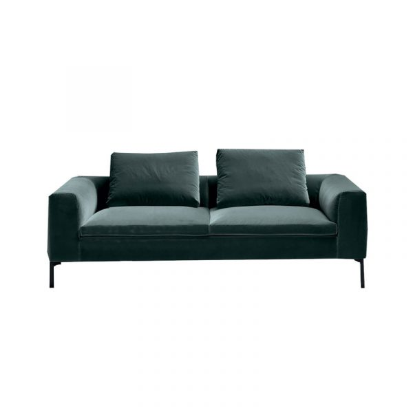Cockcroft Two Seat Sofa in Velvet