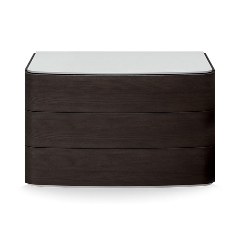 Olson and Baker Dalton Chest of Three Drawers by Olson and Baker Studio Olson and Baker - Designer & Contemporary Sofas, Furniture - Olson and Baker showcases original designs from authentic, designer brands. Buy contemporary furniture, lighting, storage, sofas & chairs at Olson + Baker.