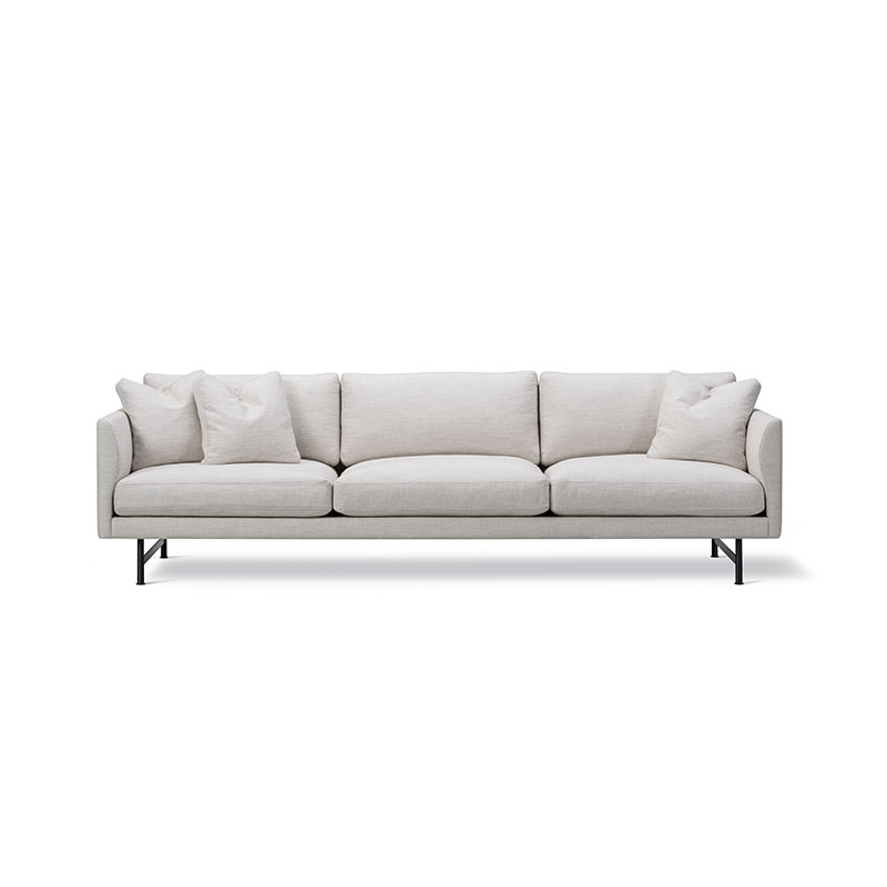 Fredericia Calmo 80 Three Seat Sofa by Hugo Passos Olson and Baker - Designer & Contemporary Sofas, Furniture - Olson and Baker showcases original designs from authentic, designer brands. Buy contemporary furniture, lighting, storage, sofas & chairs at Olson + Baker.