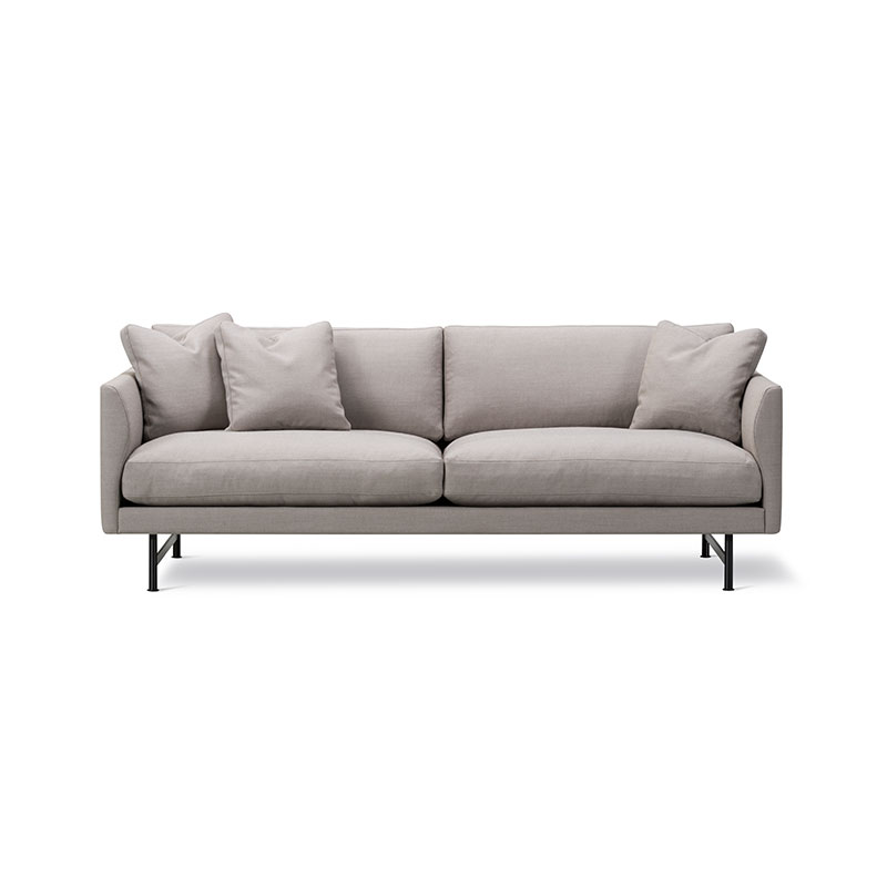 Fredericia Calmo 95 Two Seat Sofa by Hugo Passos Olson and Baker - Designer & Contemporary Sofas, Furniture - Olson and Baker showcases original designs from authentic, designer brands. Buy contemporary furniture, lighting, storage, sofas & chairs at Olson + Baker.