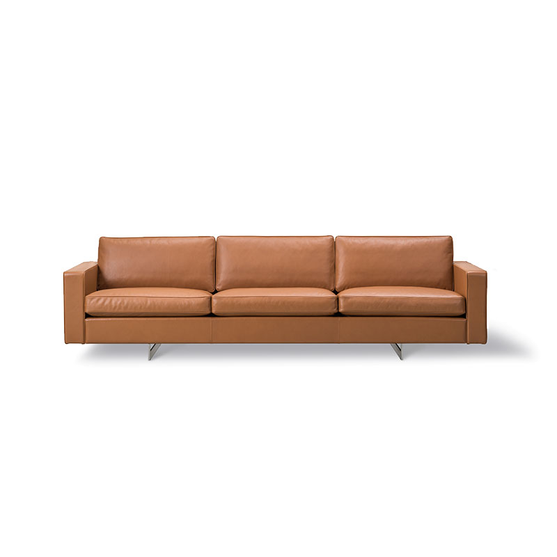 Fredericia Risom 65 Three Seat Sofa by Jens Risom Olson and Baker - Designer & Contemporary Sofas, Furniture - Olson and Baker showcases original designs from authentic, designer brands. Buy contemporary furniture, lighting, storage, sofas & chairs at Olson + Baker.