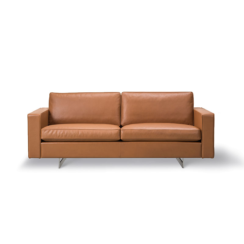 Fredericia Risom 65 Two Seat Sofa by Jens Risom Olson and Baker - Designer & Contemporary Sofas, Furniture - Olson and Baker showcases original designs from authentic, designer brands. Buy contemporary furniture, lighting, storage, sofas & chairs at Olson + Baker.