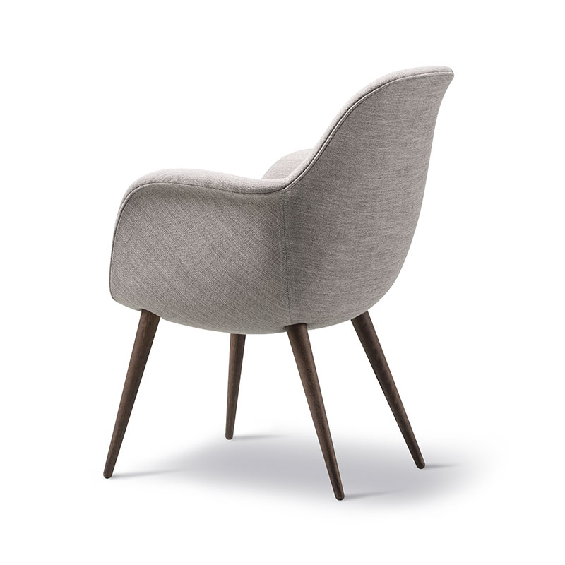 Fredericia Swoon Dining Chair Ruskin 33 Smoked Oil Oak 01 Olson and Baker - Designer & Contemporary Sofas, Furniture - Olson and Baker showcases original designs from authentic, designer brands. Buy contemporary furniture, lighting, storage, sofas & chairs at Olson + Baker.