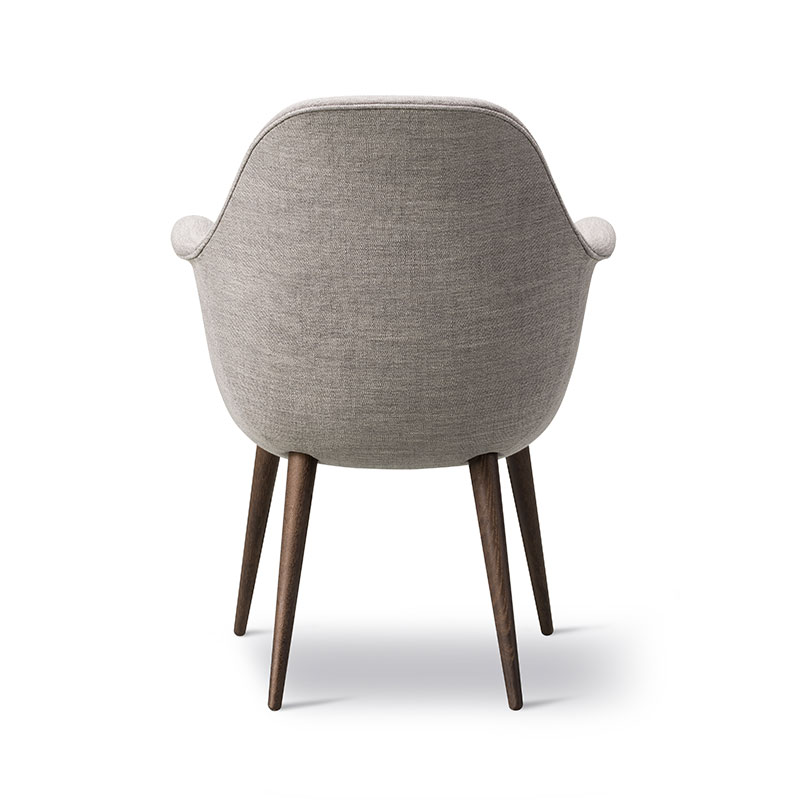 Fredericia Swoon Dining Chair Ruskin 33 Smoked Oil Oak 02 Olson and Baker - Designer & Contemporary Sofas, Furniture - Olson and Baker showcases original designs from authentic, designer brands. Buy contemporary furniture, lighting, storage, sofas & chairs at Olson + Baker.