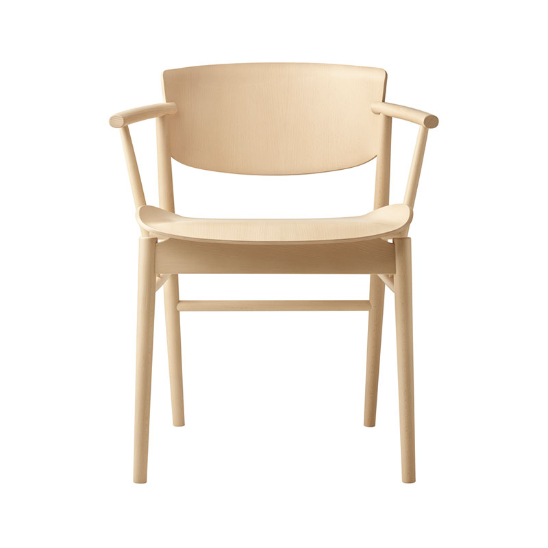 Fritz Hansen N01 Chair by Nendo Olson and Baker - Designer & Contemporary Sofas, Furniture - Olson and Baker showcases original designs from authentic, designer brands. Buy contemporary furniture, lighting, storage, sofas & chairs at Olson + Baker.