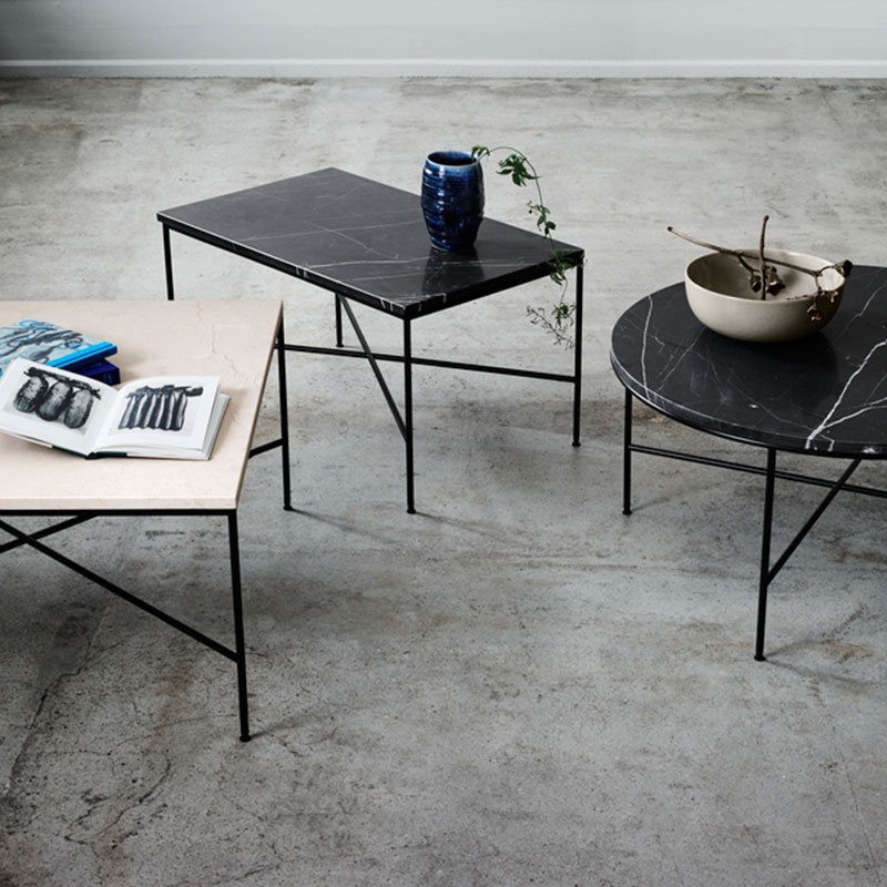 Fritz Hansen Planner Coffee Table Paul McCobb life 5 Olson and Baker - Designer & Contemporary Sofas, Furniture - Olson and Baker showcases original designs from authentic, designer brands. Buy contemporary furniture, lighting, storage, sofas & chairs at Olson + Baker.