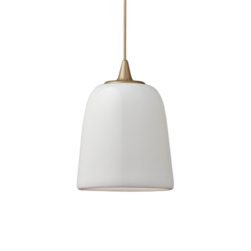 Fritz Hansen Dogu Pendant Lamp by Michael Geertsen Olson and Baker - Designer & Contemporary Sofas, Furniture - Olson and Baker showcases original designs from authentic, designer brands. Buy contemporary furniture, lighting, storage, sofas & chairs at Olson + Baker.