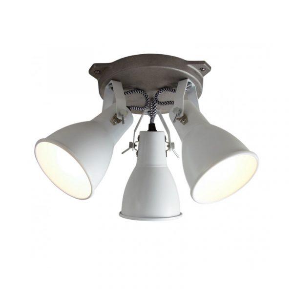 Stirrup Triple Ceiling Light