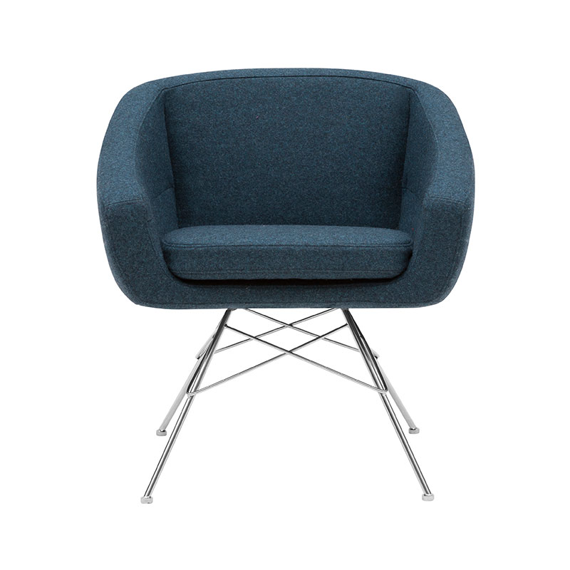 Softline Aiko Lounge Chair by Susanne Groenlund Olson and Baker - Designer & Contemporary Sofas, Furniture - Olson and Baker showcases original designs from authentic, designer brands. Buy contemporary furniture, lighting, storage, sofas & chairs at Olson + Baker.