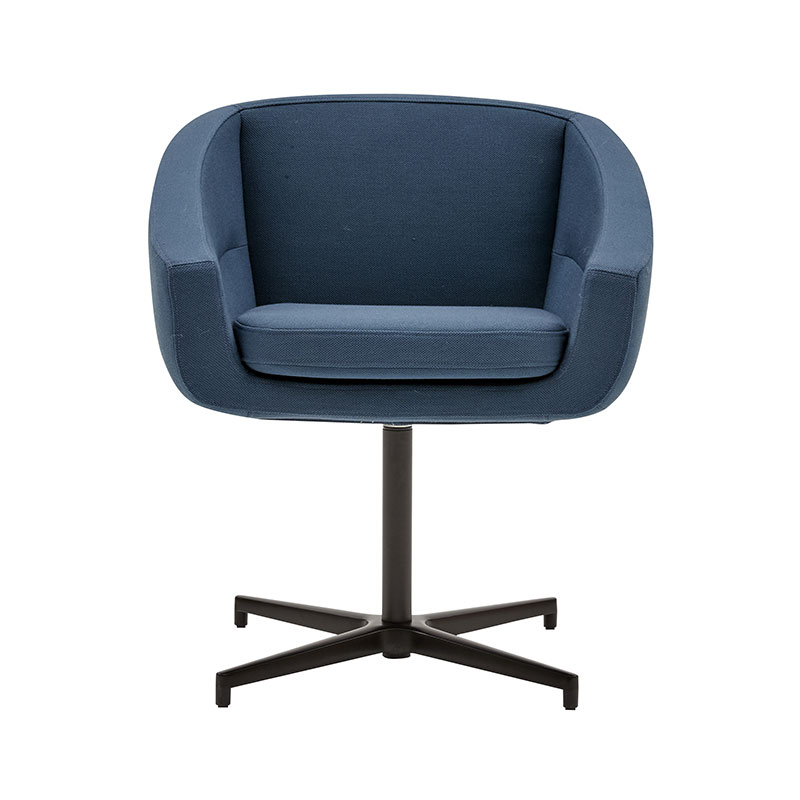 Softline Aiko Swivel 756 Steelcut-Trio-2 Black 01 Olson and Baker - Designer & Contemporary Sofas, Furniture - Olson and Baker showcases original designs from authentic, designer brands. Buy contemporary furniture, lighting, storage, sofas & chairs at Olson + Baker.