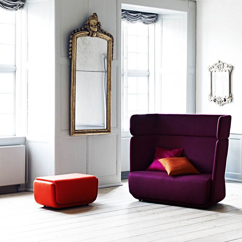Softline Basket Lifeshot 01 Olson and Baker - Designer & Contemporary Sofas, Furniture - Olson and Baker showcases original designs from authentic, designer brands. Buy contemporary furniture, lighting, storage, sofas & chairs at Olson + Baker.