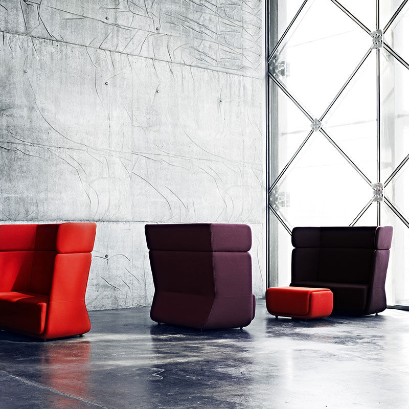 Softline Basket Lifeshot 02 Olson and Baker - Designer & Contemporary Sofas, Furniture - Olson and Baker showcases original designs from authentic, designer brands. Buy contemporary furniture, lighting, storage, sofas & chairs at Olson + Baker.