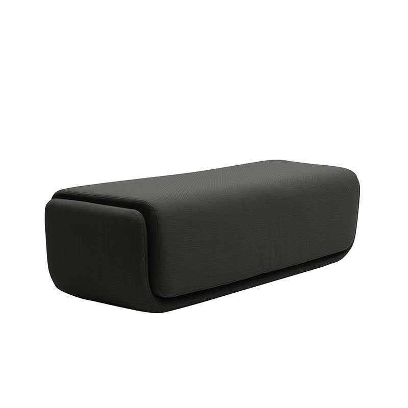 Softline Basket Pouf Large by Matthias Demacker Olson and Baker - Designer & Contemporary Sofas, Furniture - Olson and Baker showcases original designs from authentic, designer brands. Buy contemporary furniture, lighting, storage, sofas & chairs at Olson + Baker.