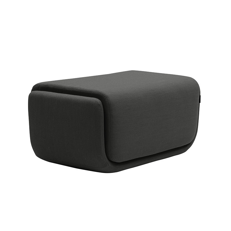 Softline Basket Pouf Small by Matthias Demacker Olson and Baker - Designer & Contemporary Sofas, Furniture - Olson and Baker showcases original designs from authentic, designer brands. Buy contemporary furniture, lighting, storage, sofas & chairs at Olson + Baker.