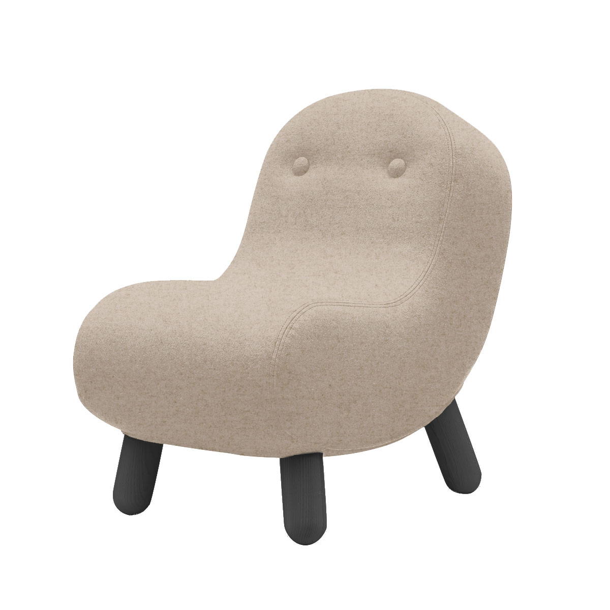 Softline Bob Lounge Chair by Andreas Lund Olson and Baker - Designer & Contemporary Sofas, Furniture - Olson and Baker showcases original designs from authentic, designer brands. Buy contemporary furniture, lighting, storage, sofas & chairs at Olson + Baker.