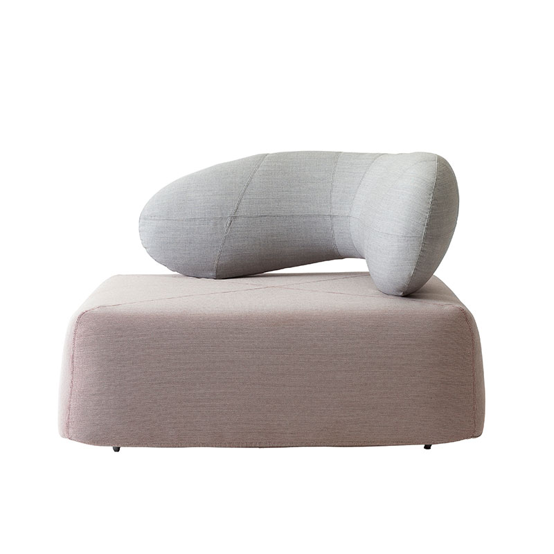 Softline Chat Chair by Hiromichi Konno Olson and Baker - Designer & Contemporary Sofas, Furniture - Olson and Baker showcases original designs from authentic, designer brands. Buy contemporary furniture, lighting, storage, sofas & chairs at Olson + Baker.