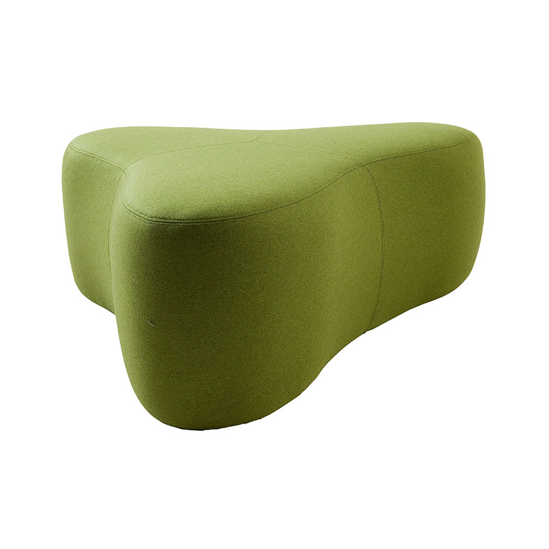 Softline Chat Pouf Large by Hiromichi Konno Olson and Baker - Designer & Contemporary Sofas, Furniture - Olson and Baker showcases original designs from authentic, designer brands. Buy contemporary furniture, lighting, storage, sofas & chairs at Olson + Baker.